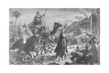 Illustration of the Entry of the Khalif Omar into Jerusalem