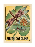 South Carolina Travel Decal