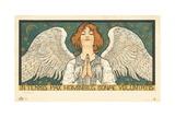 In Terris Pax Hominibus Bonae Voluntatis Postcard Giclée