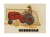 Nebraska Travel Decal