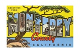 Greetings from Monterey County  California