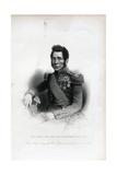 Lieutenant General Sir John Fox Burgoyne Engraving