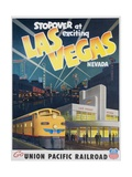 Union Pacific Railroad Las Vegas Travel Poster