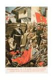 Ferdinand I  King of Bulgaria Entering Seized Turkish Territory