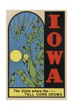 Iowa Travel Decal