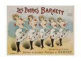 Les Petites Barnett Poster Giclée