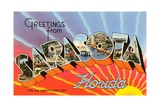Greetings from Sarasota  Florida  the Air Conditioned City