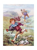 Jack and the Beanstalk Illustration