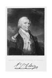Portrait Engraving of Major General Arthur St Clair