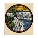 Niagara Falls Travel Decal