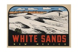 White Sands New Mexico Travel Decal