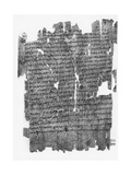 Papyrus Roll with Epistle to the Hebrews
