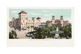 The Alcazar  St Augustine  Fla Postcard