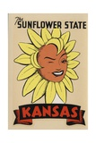 Kansas Travel Decal