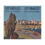 Illustration for Los Angeles Street and Vicinity Maps