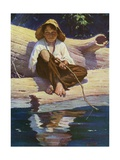 Huckelberry Finn Fishing