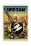 Oregon Travel Decal