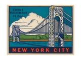 George Washington Bridge Travel Decal