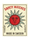 Safety Matches Matchbox Labels