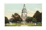 State Capitol  Annapolis  MD Postcard