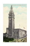 Metropolitan Life Building  New York Postcard