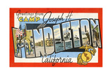 Greetings from Camp Joseph H Pendleton  California