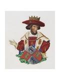 Manuscript Illumination of a King