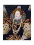 Portrait of Queen Elizabeth I of England (The Armada Portrait)
