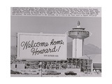 Welcome Home Sign for Howard Hughes
