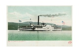 "Steamer ""Horicon"" on Lake George Postcard"