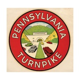 Pennsylvania Turnpike Travel Decal