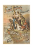 Frank Lesli's Illustrated 1876 Centennial Exposition Poster