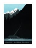 Saving Sierra Snows Power Company Advertisement