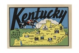 Kentucky Travel Decal