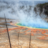 Visit The Grand Prismatic  Yellowstone