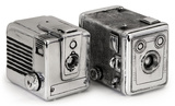 Vintage Camera Bookends *