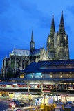 Cologne Cathedral and Railway Station