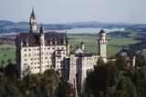 Germany  Bayern  Allgau  Fussen  Schloss Neuschwanstein Castle