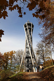 Schlossberg Tower at Schlossberg  Freiburg  Baden-Wurttemberg  Germany  Europe
