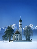 St Coloman Church in Bavaria