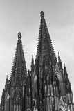 Steeples on the Cologne Cathedral