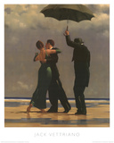 Dancer In Emerald Reproduction d'art par Jack Vettriano