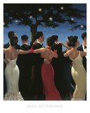 Waltzers Reproduction d'art par Jack Vettriano