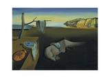 The Persistence of Memory Reproduction d'art par Salvador Dalí