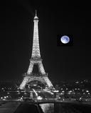 Lune Bleue Giclée par Bill Philip