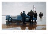 Plage de Pendine Reproduction d'art par Jack Vettriano