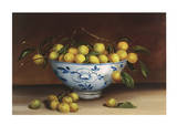 Bowl of Greengages