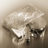 Vintage Glamour Evening Bag & Compact