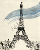 Eiffel Tower in Pen