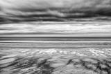 Bamburgh Beach at Low Tide  Northumberland  Uk